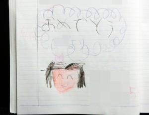 教室ノートの絵
